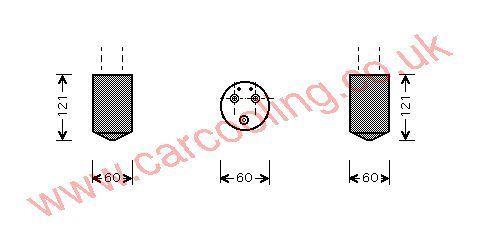 Drier Chevrolet Matiz    96320092