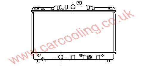 Radiator Toyota Corolla IV    16400-11170