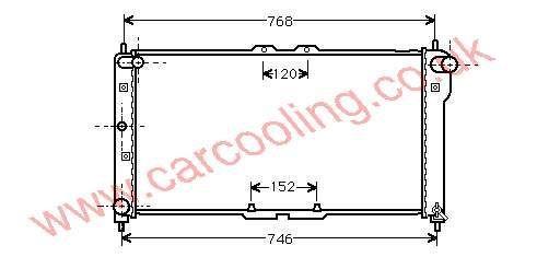 Radiator Mazda MX3 K801-15-200 D