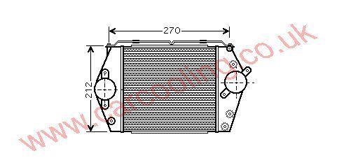 Intercooler Mazda 6 RF5C13565