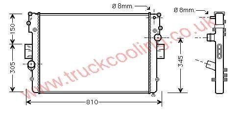 Radiator Iveco Daily V    504045487