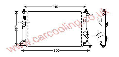 Radiator Mazda 5    LFB715200A
