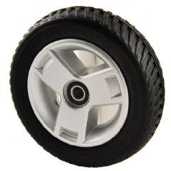 Pride Elite Traveller 4 LX Black Tyre Silver Tri Spoke (Front) WHLASMB1868