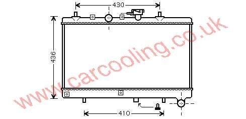 Radiator Kia Rio II    25310-FD010