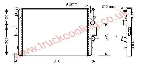 Radiator Iveco Daily IV    500303392 /