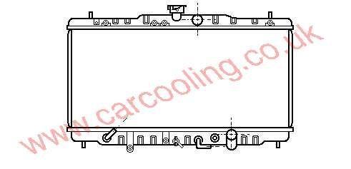 Radiator Honda Prelude III 19010-PK1-A51
