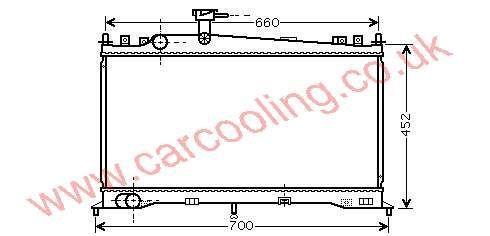 Radiator Mazda 6    LF17-15-200 / A