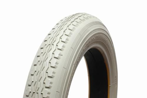12 1/2 x 2 1/4 Grey Manual Chair Tyre