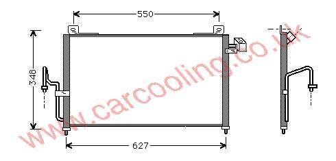 Condenser Mazda 323 IV B25P-61-480