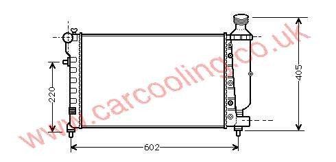 Radiator Citroen Saxo    1330.A8
