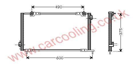 Condenser Honda Accord VI    80110-S1A-G01