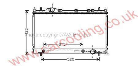 Radiator Chrysler Neon 5019214AA