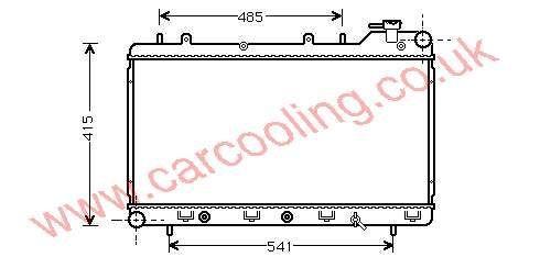 Radiator Subaru Forester 45199-FA030