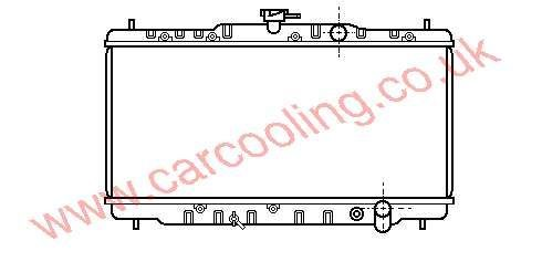 Radiator Honda Accord II    19010-PH1-621 / 622