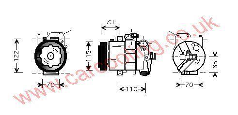 Compressor Seat Cordoba IV    6Q0820803D