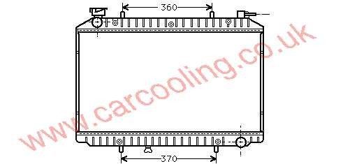 Radiator Nissan Serena    21410-9C001