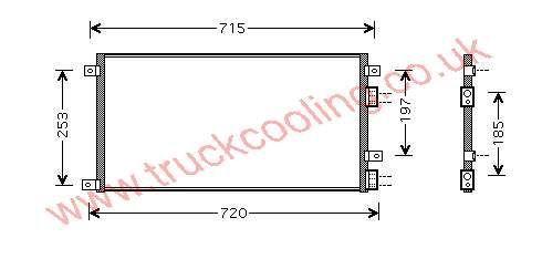 Condenser Iveco Daily V 504022601