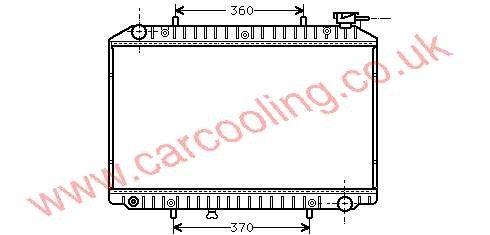 Radiator Nissan Serena    21410-9C100