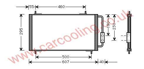 Condenser MG F    JRB 100450