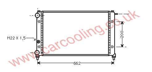 Radiator Seat Ibiza I    SE 021.117.002 B / D