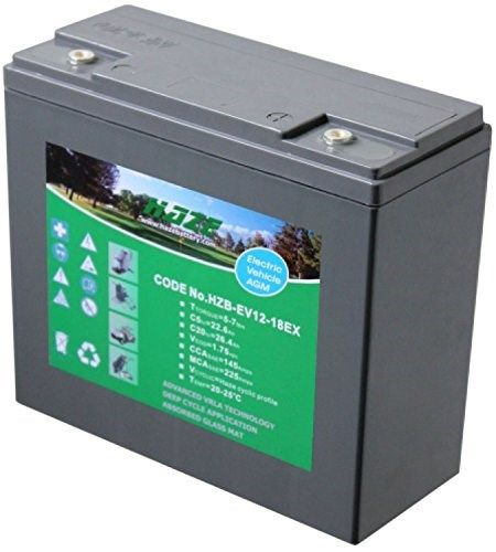 12V 26Ah Haze High Output Sealed Lead Acid (AGM) Mobility Scooter Battery HZB-EV12-18EX