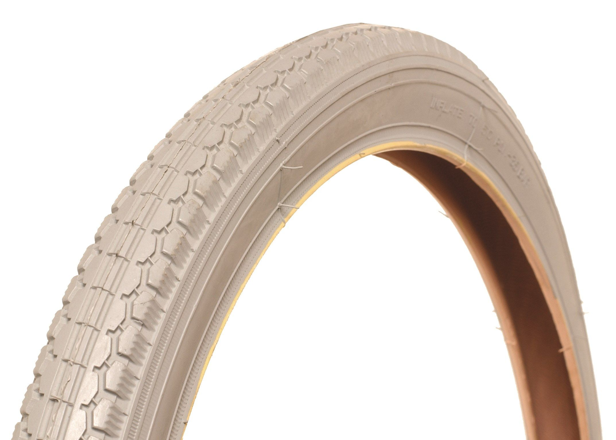 20 x 1 3/8 (37-451) Grey Manual Chair Tyre