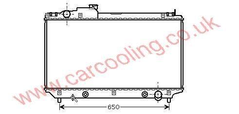 Radiator Lexus LS430 16400-50230