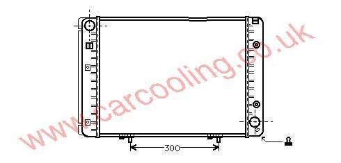 Radiator Merc. W201 190 Series    201.500.5503