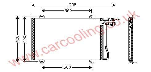 Condenser Merc. 208 / 308 / 408 D    901.500.0454