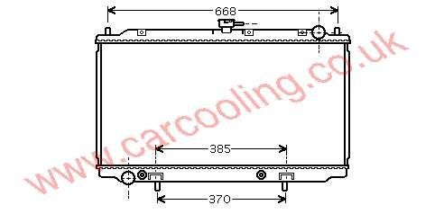 Radiator Nissan Almera Tino (V10M) 21460-BU500 /
