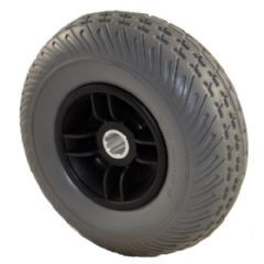 Pride Elite Traveller 4+ Grey Tyre Black Rim (Rear)
