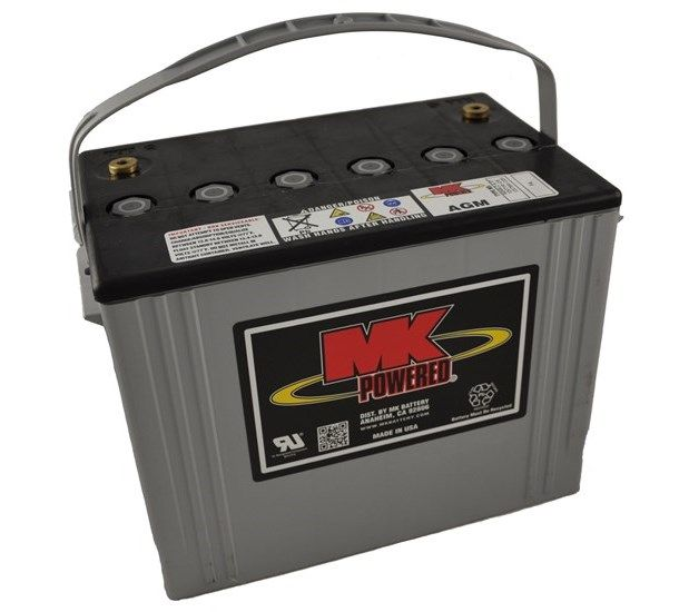 12V 79Ah MK Sealed Lead Acid (AGM) Mobility Scooter Battery M24 SLD AAP