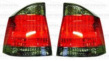 VAUXHALL VECTRA H/B 02-08 REAR LAMP RED & SMOKED LED PERFORMANCE - 1 PAIR