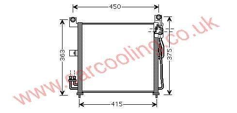 Condenser Kia Picanto 97606-07000