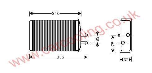 Heater Matrix Skoda Felicia 6U0.819.030