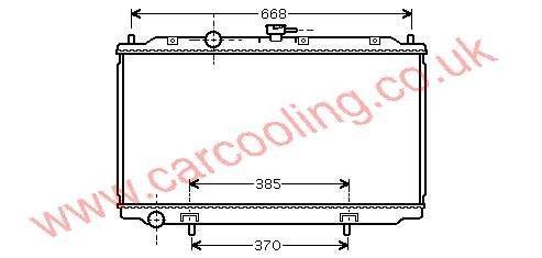 Radiator Nissan Primera W12    21410-BM400