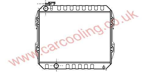 Radiator Toyota Hi-Lux III 16400-54610