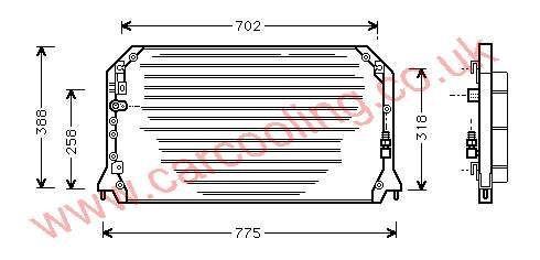 Condenser Toyota Camry IV    88460-06061