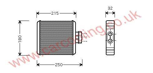 Heater Matrix Seat Cordoba IV 6Q0.819.031