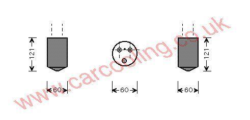 Drier Chevrolet Matiz    96512885