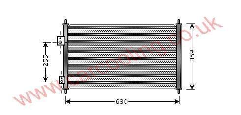 Condenser Honda Civic VI    80110-S6D-G01