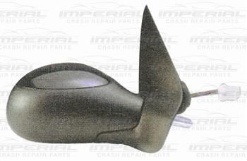 PEUGEOT 206 98-09 DOOR MIRROR ELECTRIC HEATED TYPE WITH PRIMED COVER PG199ADDCR
