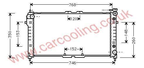 Radiator Mazda 626 IV    FS20-15-200 F