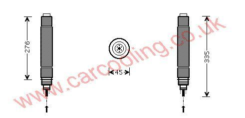 Drier Lancia Phedra    6455AK