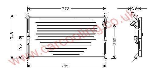 Condenser Toyota RAV 4    88460-42011