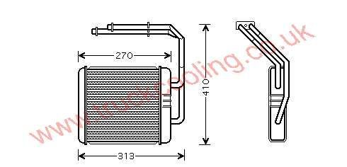 Heater Matrix Iveco Daily IV