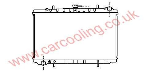 Radiator Nissan Prairie M11 21410-32R00 /32R01