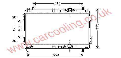 Radiator Chrysler Neon    4546902