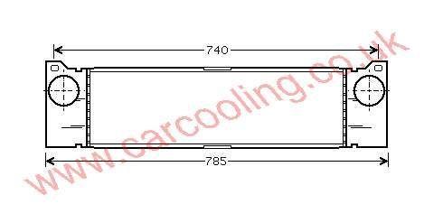 Intercooler Merc. Vito ( V 639 )    639.501.0201