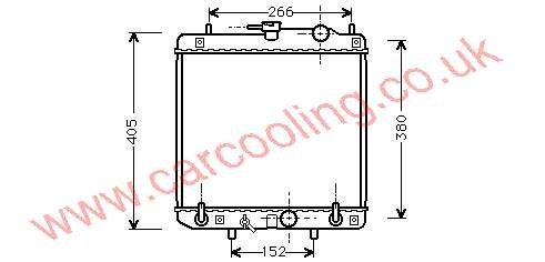 Radiator Daihatsu Gran Move    16400-87F43